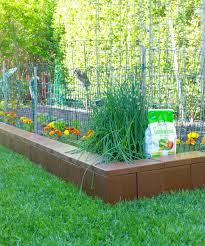 Garden Wall Systems by Modular Plastic Border Edging Blocks For Your Garden And Home