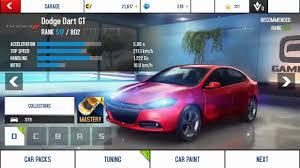 dodge dart gt top speed android 2017 asphalt 8 airborne gameplay nivada dodge