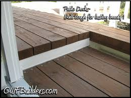 Patio Deck Cost by Patio Covers And Decks Santa Clarita Christopher French Construction