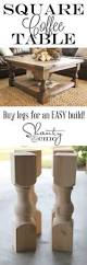 Small Square Coffee Table by Best 20 Small Coffee Table Ideas On Pinterest Diy Tall Desk
