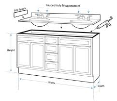 What Is A Bathroom Vanity by Standard Height Of A Bathtub Moncler Factory Outlets Com