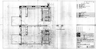 plan chambre d hotel hôtel b plan type de chambre à 2 lits marcel breuer architecte 10