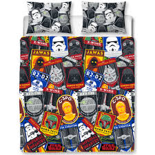star wars patch double duvet set at wilko com
