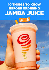 what you need to before ordering jamba juice