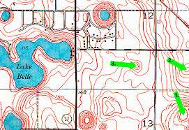 florida topo map topographic map exercise