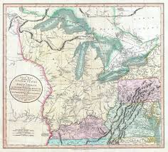 Old United States Map by File 1805 Cary Map Of The Great Lakes And Western Territory