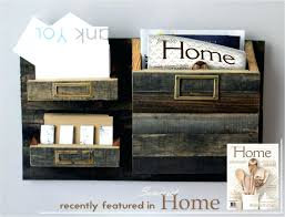 Mail And Key Holder Wall Ideas Wall Mounted Metal Mail And Magazine Organizer Rustic