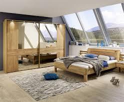 Contemporary Bedroom Furniture Sets  Iris By Stylform Solid Oak - Oak bedroom furniture uk