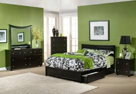 Magnificent  Green Color Bedroom Pictures Decorating Design Of - Color bedroom design