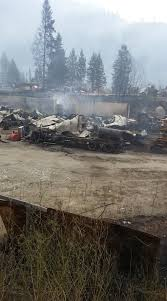 Wildfire Bc Pictures by Rock Creek Wildfire Destroys 30 Homes Still Uncontained
