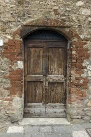 old wooden door italian style tuscany travel pinterest