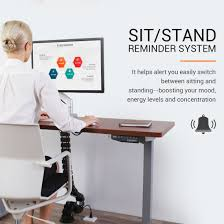 Electric Sit Stand Desk by Electric Height Adjustable Desks Standard Option Flexispot