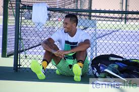 tennis life a little love tennis in the desert with kyrgios and