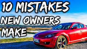 10 mistakes new mazda rx8 owners make youtube