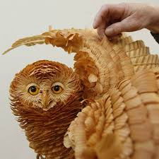 wooden arts and crafts unique crafts wood chips animal sculptures from sergey bobkov