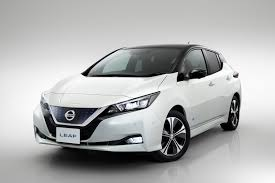 nissan black car old nissan leaf 2018 review parkers