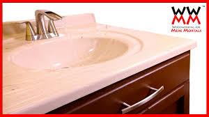 diy bathroom vanity save money by making your own cabinets youtube
