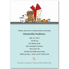 teddy baby shower invitations and teddy baby shower invitation bs026