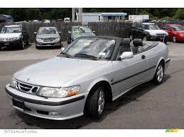 saab convertible 2001 silver metallic saab 9 3 se convertible 13809129 gtcarlot