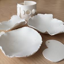 beautiful diy bowls make today with paper clay artist s network