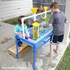step 2 sand and water table to make a pvc pipe sand and water table design regarding best step 2