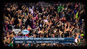 tampa monster truck show monster jam in tampa on fox sports 1 jan 17 2015 youtube