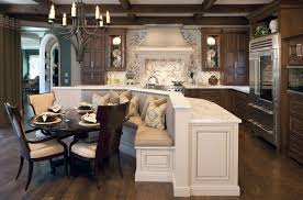 island kitchen table ways of integrating corner kitchen tables in your d cor with regard