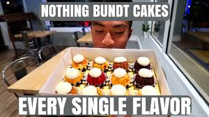 nothing bundt cakes every single flavor youtube