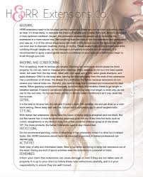 What Shampoo To Use For Hair Extensions by Herr Hair Maintenance U2013 Herrextensions