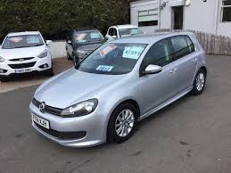 used volkswagen golf hatchback 1 6 tdi bluemotion tech 5dr in