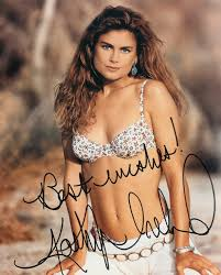 Pictures Of Kathy Ireland by Kathy Ireland Autographed 8x10