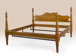 colonial style beds new queen size colonial style bed frame tiger maple wood antique