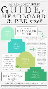 Bedside Table Height Relative To Bed Remodelaholic Your Guide To Headboard Sizes