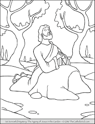 Sorrowful Mysteries Coloring Pages The Catholic Kid Mystery Coloring Pages