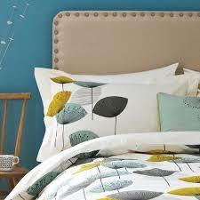 sanderson dandelion clocks oxford pillowcase pair disc duvet