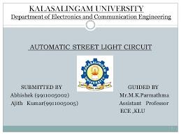 Solar Street Light Circuit Diagram by Street Light