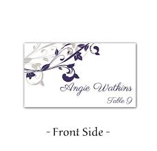 wedding place cards free printable template wedding invitation