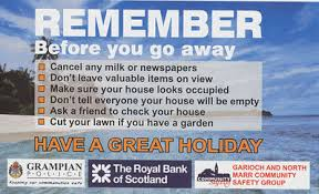 Secure Your Valuable Items With - aberdeenshire community safety groups secure homes reminder for