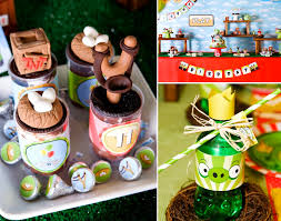 kara u0027s party ideas angry birds boy video game birthday party