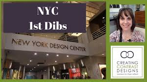 First Dibs Home Decor by Nydc New York Design Centre 1st Dibs Youtube