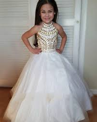 wedding gown for rent beautiful girl s pageant gowns gown halter