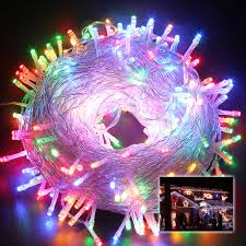 250leds 50m multi color string fairy lights xmas home christmas
