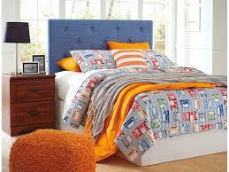 Full Fabric Headboard by Nuvella Blue Full Upholstered Headboard