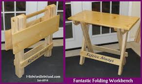 small sturdy folding table my business plans and tutorialshow they are made