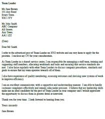 crew cover letters