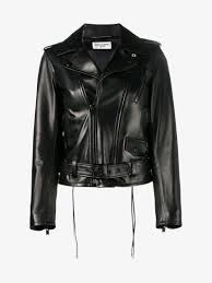 motorcycle jackets saint laurent l17 motorcycle jacket leather jackets browns fashion