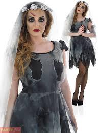 Halloween Costume Zombie Ladies Corpse Bride Costume Zombie Bride Halloween Fancy Dress
