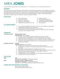Good Resume Builder Legal Resume Template Berathen Com