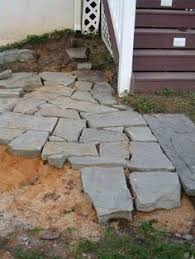 How To Lay Patio Stones by Stone Patio Green Thumb Pinterest Stone Patios Patio And Stones