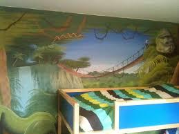 fresque chambre bébé décor chambre enfant peinture chambre ado fresque chambre trompe